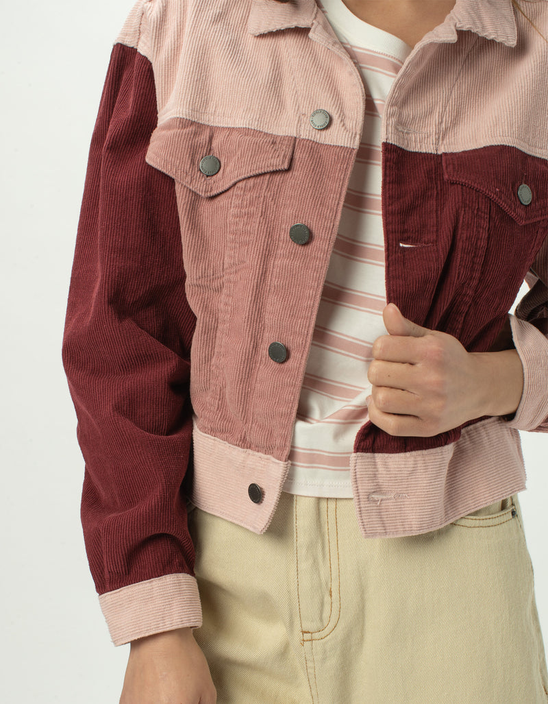 Original Jean Jacket Rose Corduroy