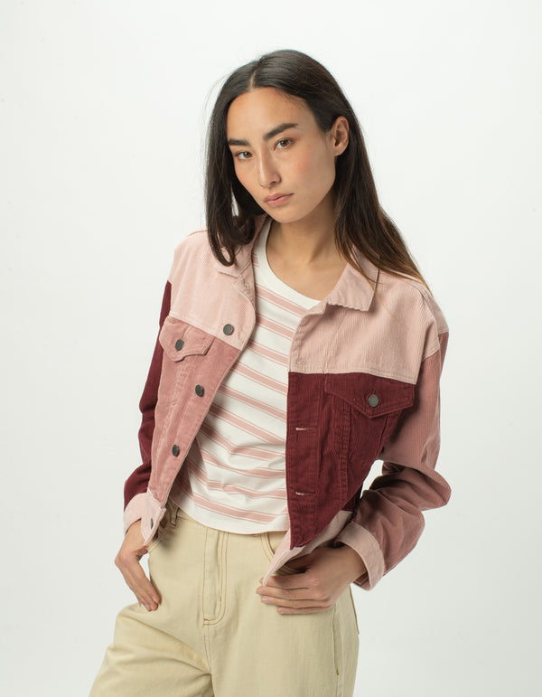 Original Jean Jacket Rose Corduroy - Sale