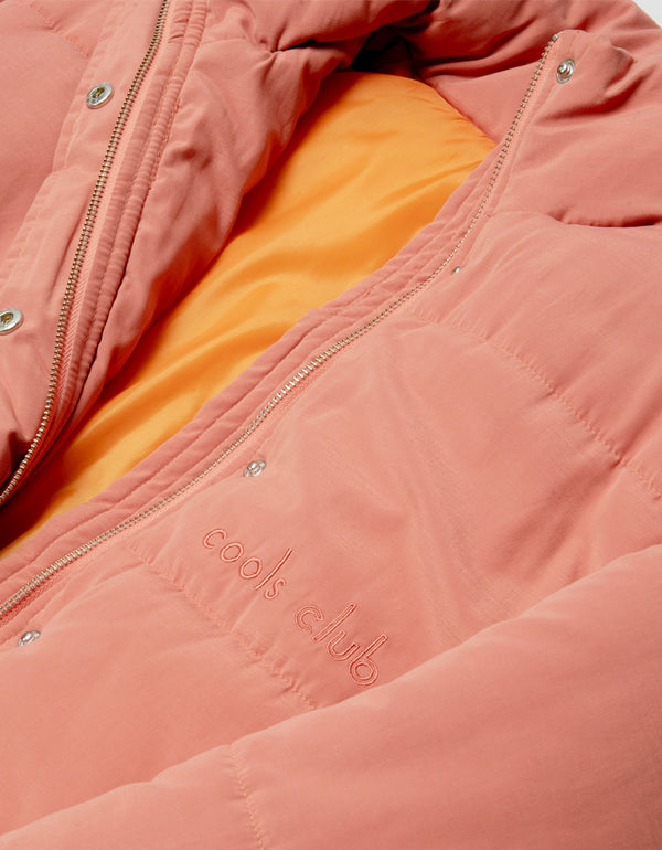 Puff Club Jacket Coral - Sale