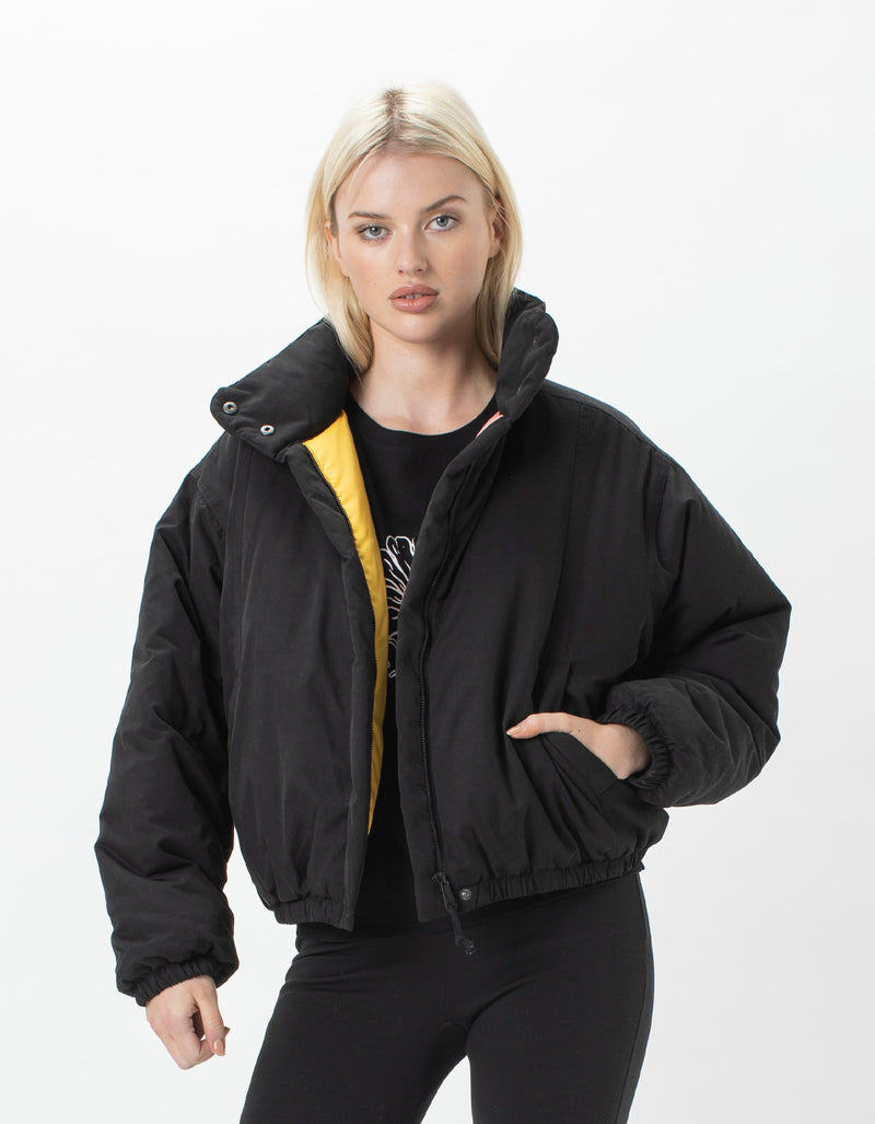 Puff Club Jacket Black