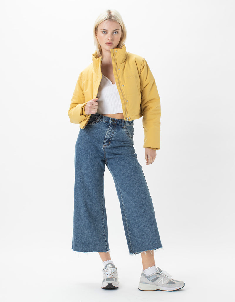 Cropped Puff Club Jacket Sahara
