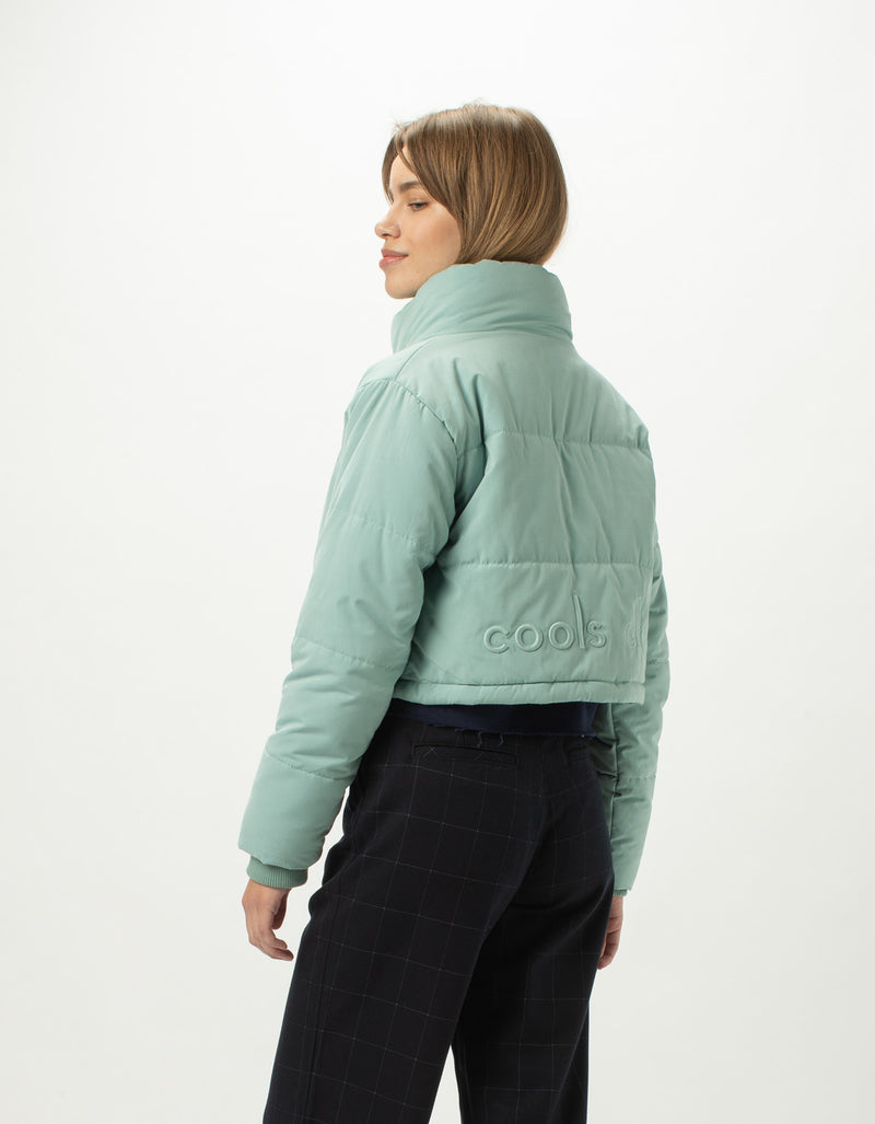 Cropped Puff Club Jacket Sapphire