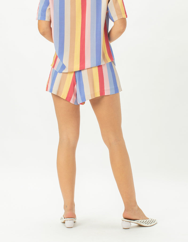 Resort Short 70's Stripe