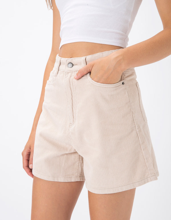 Cools Classic Shorts Stone Corduroy