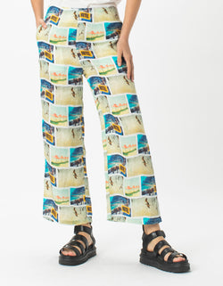 Easy Pants Holiday Print