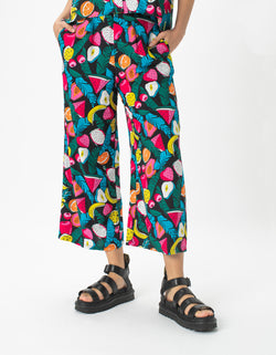Easy Pant Black Fruit