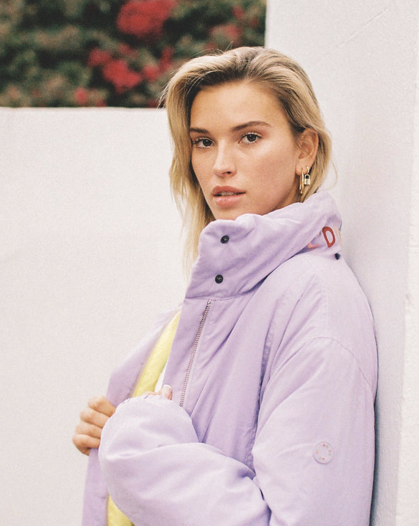 Puff Club Jacket Lavender