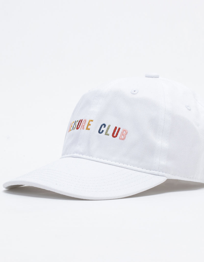 Leisure Micro Hat White