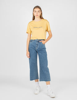 Club Homegirl Tee Mustard - Sale