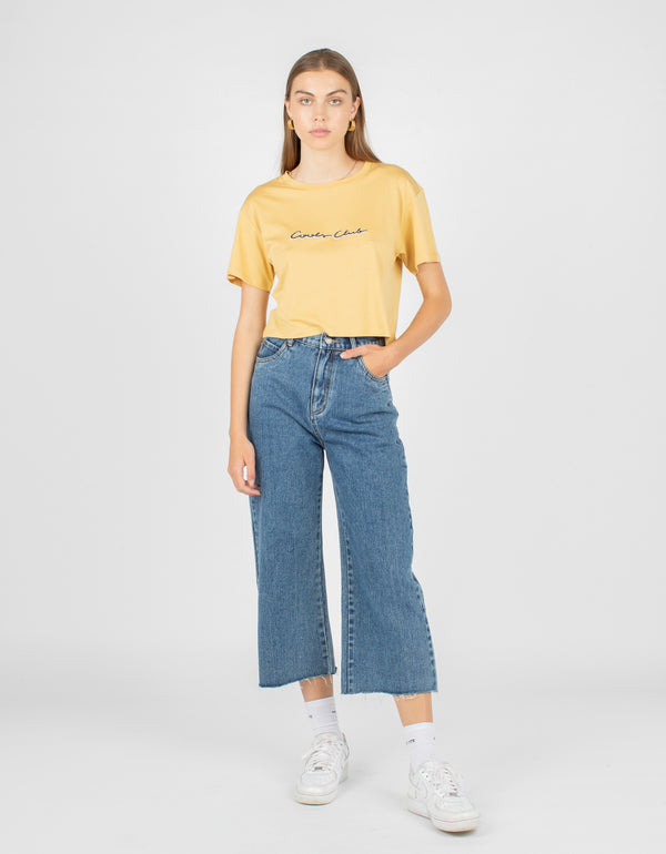 Club Homegirl Tee Mustard