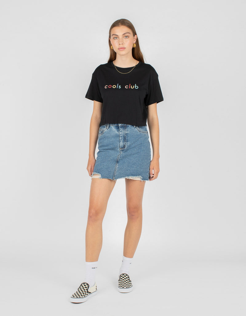Colour Member Homegirl Tee Black