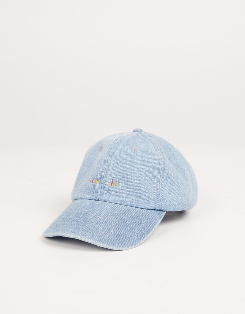 Member Curve Brim Washed Denim