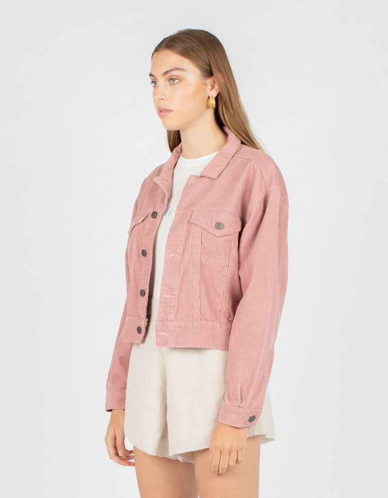 Original Jean Jacket Blush Corduroy - Sale