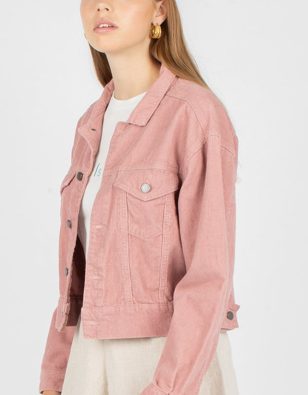 Original Jean Jacket Blush Corduroy