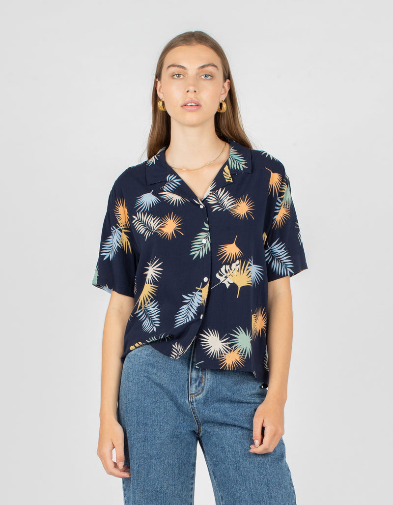 Resort Shirt Midnight Floral