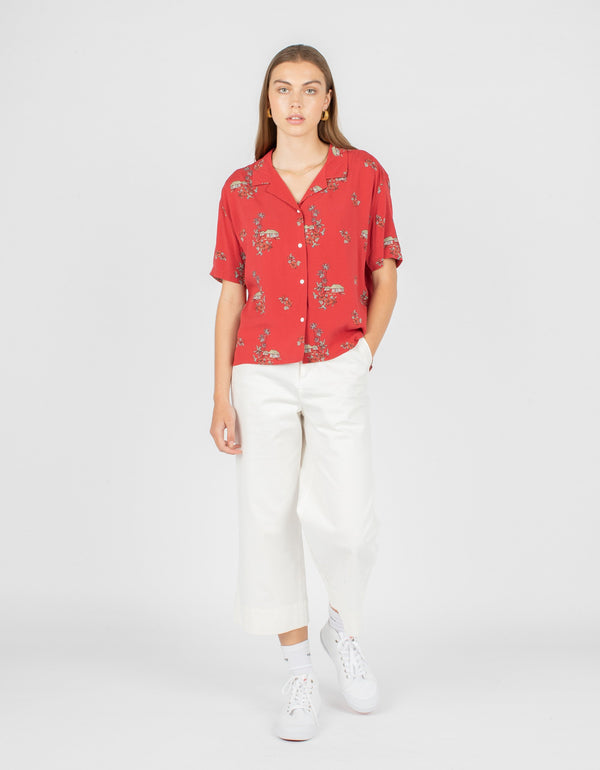 Resort Shirt Red Hawaii