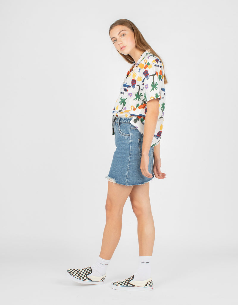 Resort Shirt White Summer
