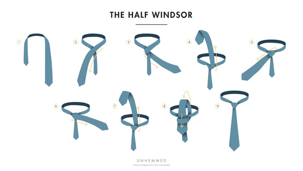 How To Tie A Tie: The Half Windsor