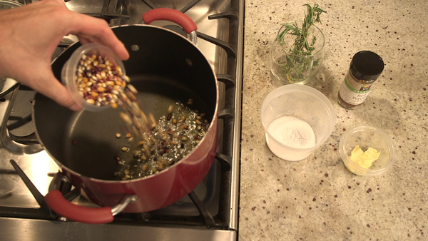 Cooked Holiday: How To Make Rosemary Spiced Popcorn