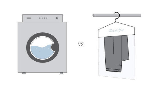 DRY CLEANING vs LAUNDERING