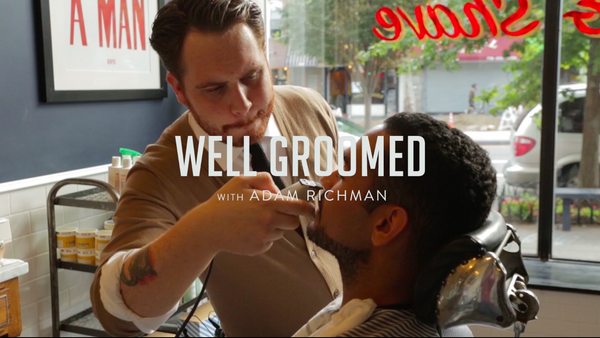 Welcome To Well Groomed With Adam Richman