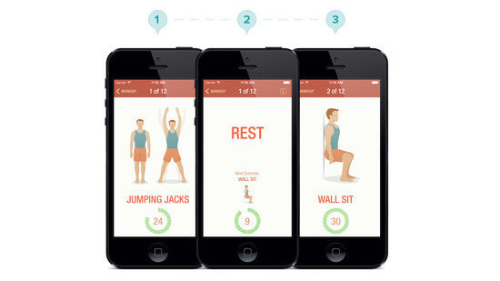 APP-TASTIC: THE 7 MINUTE WORKOUT APP
