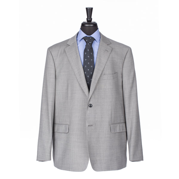 Grey NanoStretch Signature Fit Suit Jacket
