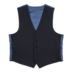 3324ebc7cd The New Essential Navy Slim Fit Suit Vest – Combatant Gentlemen