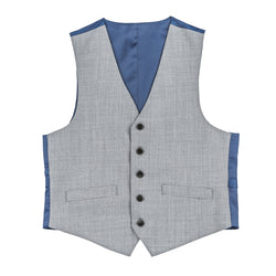 Essential Grey Tailored Fit Suit Vest