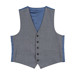 The New Essential Charcoal Slim Fit Suit Vest