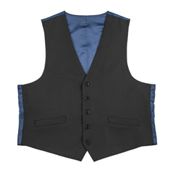 The New Essential Black Slim Fit Suit Vest