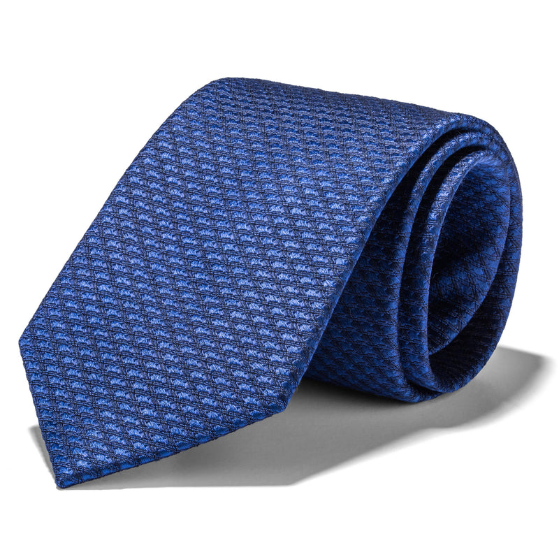 Royal Blue Stitched Tie