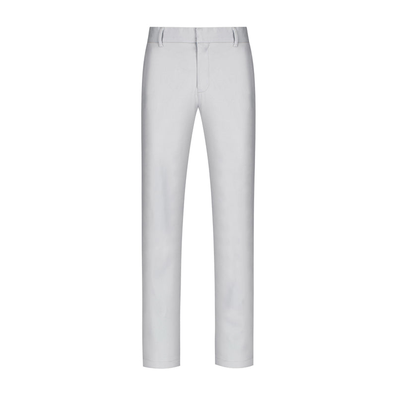 Slate Grey Straight Stretch Chino Pant
