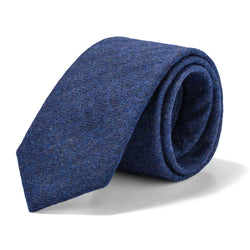Royal Blue Texture Tie