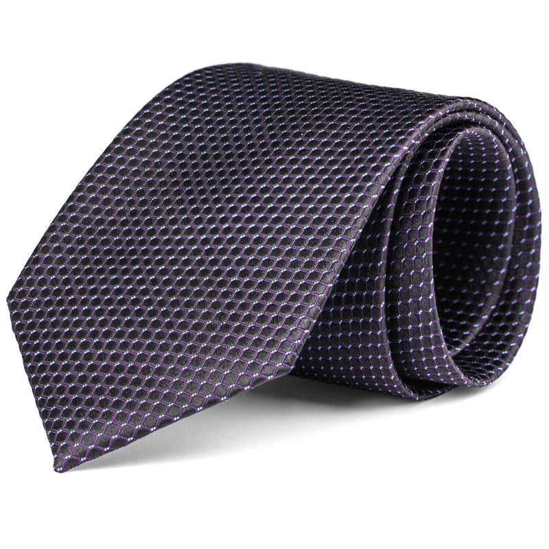 Charcoal Grey Mini Pattern Tie