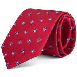 Red Mini Foulard Tie