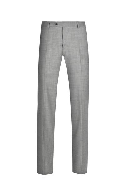 Grey NanoStretch Signature Fit Suit Pant