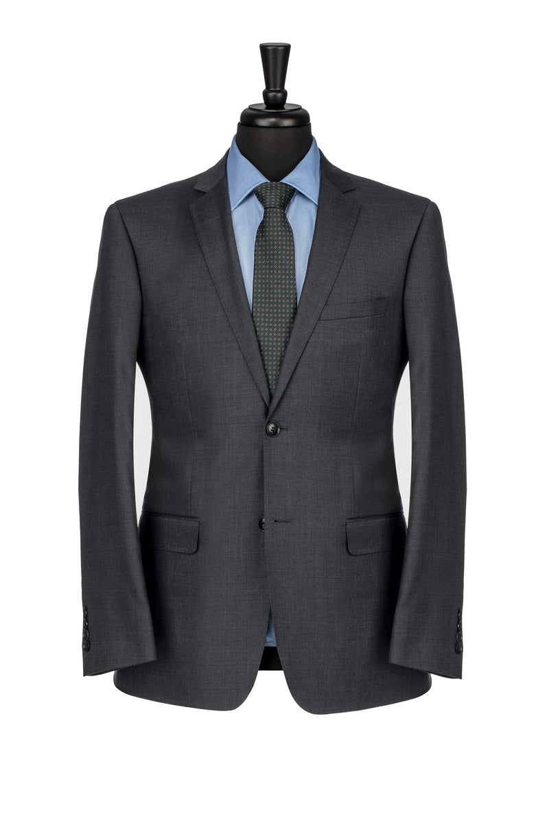 Charcoal NanoStretch Slim Fit Suit Jacket