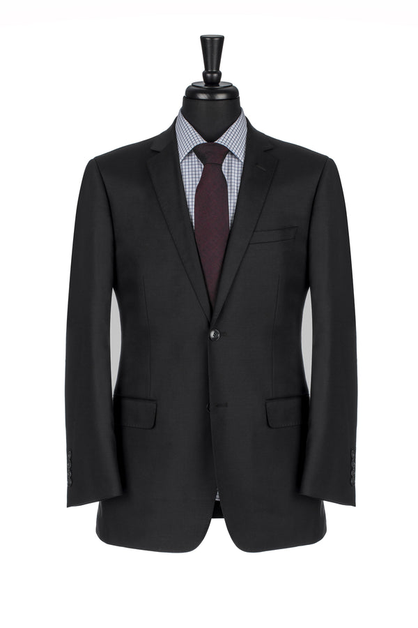 Black NanoStretch Slim Fit Suit Jacket