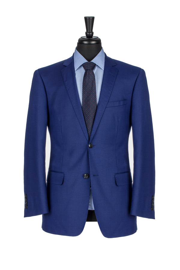 Royal Blue NanoStretch Slim Fit Suit Jacket