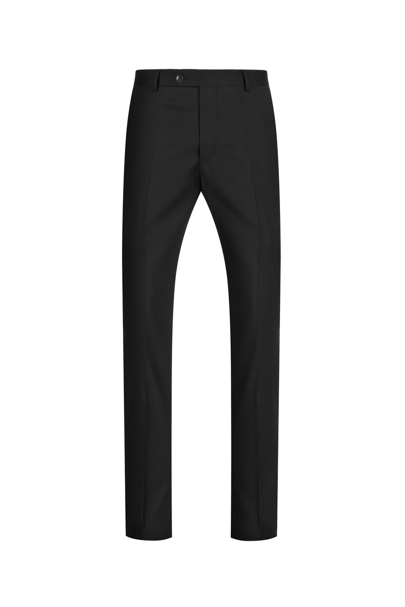 Black NanoStretch Slim Fit Suit Pant