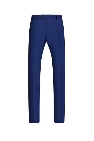 Royal Blue NanoStretch Signature Fit Suit Pant