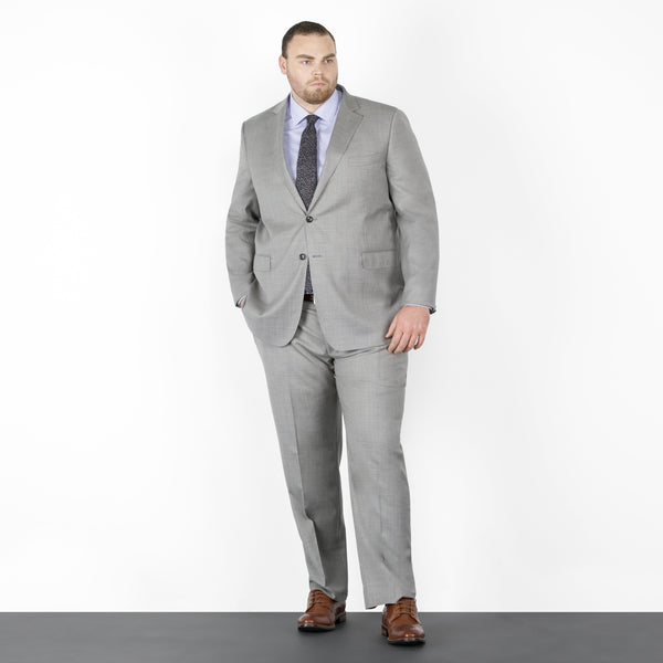 Grey NanoStretch Signature Fit Suit