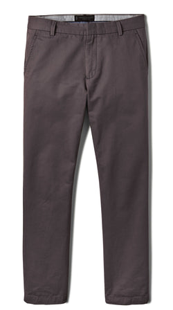 Grey Slim Stretch Chino Pant