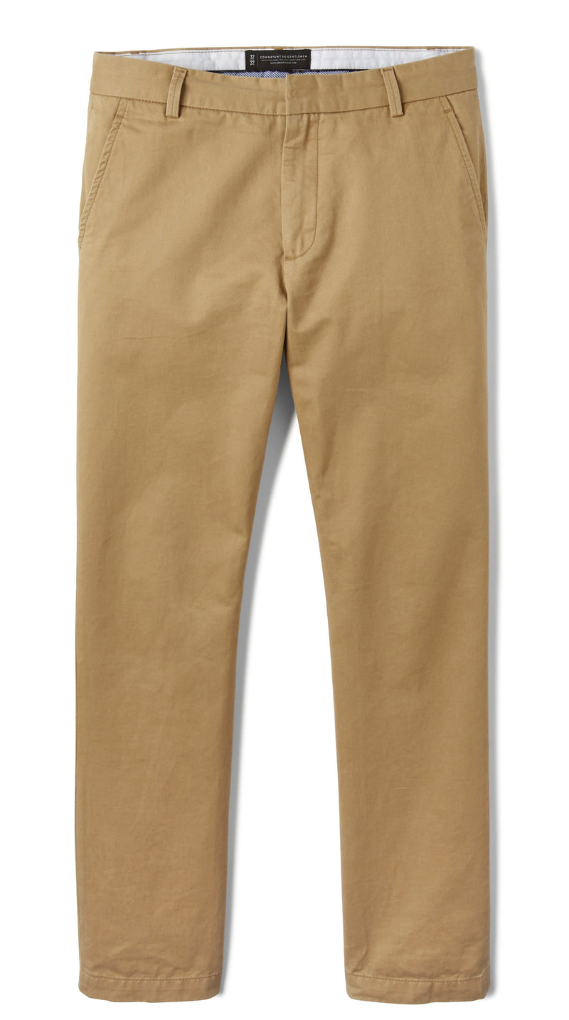 Khaki Slim Stretch Chino Pant