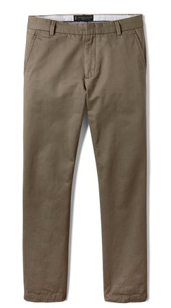Olive Slim Stretch Chino Pant