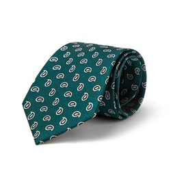 Green All Over Paisley Tie