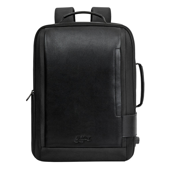 Nylon and Vegan Leather Hybrid Back-Case