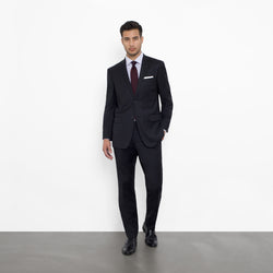 Black NanoStretch Slim Fit Suit
