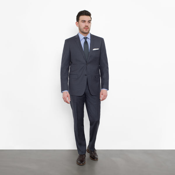 Charcoal NanoStretch Slim Fit Suit